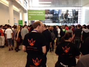 Gamescom Crowd