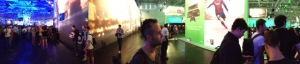 Gamescom Crowd Pano