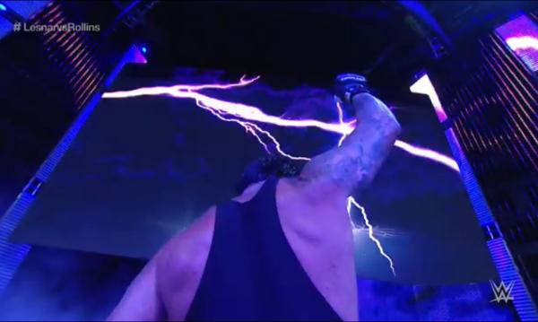 Undertaker returns 2015