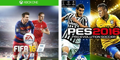 FIFA 16 PES 2016 Covers