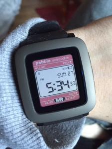 PEBBLE TIME CASIO