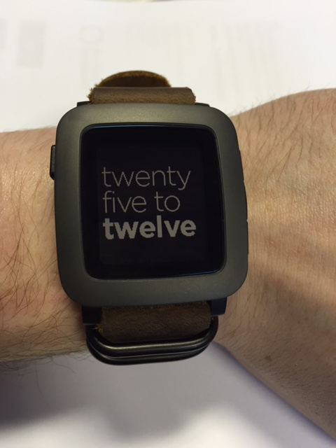 PEBBLE TIME WATCHFACE