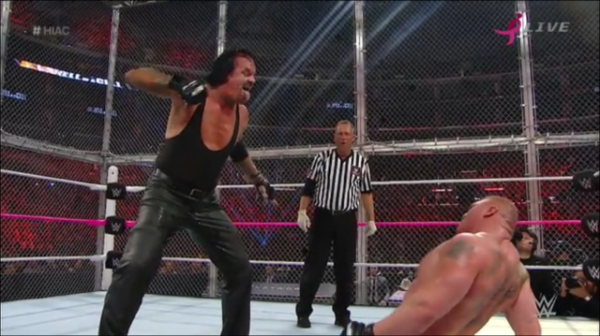 UNDERTAKER GESTURE HELL IN A CELL