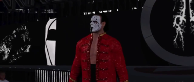 STING WRESTLEMANIA WWE 2K16
