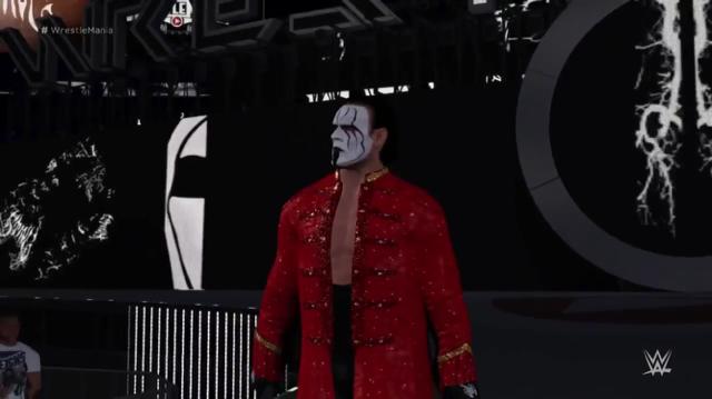 STING WRESTLEMANIA WWE 2K16