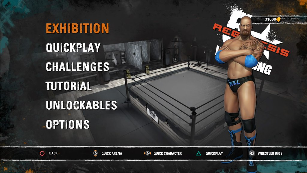5 STAR WRESTLING PS4 REVIEW