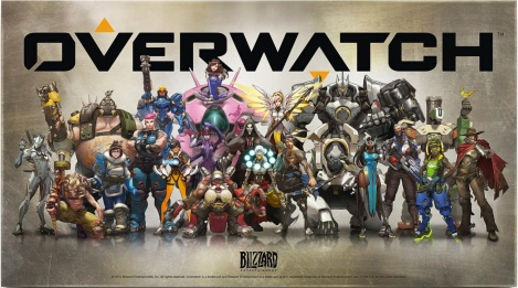Overwatch Character Plate