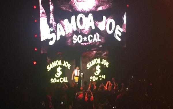 NXT Belfast Results Samoa Joe