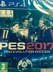 PS4 PES 2017 BOX ART