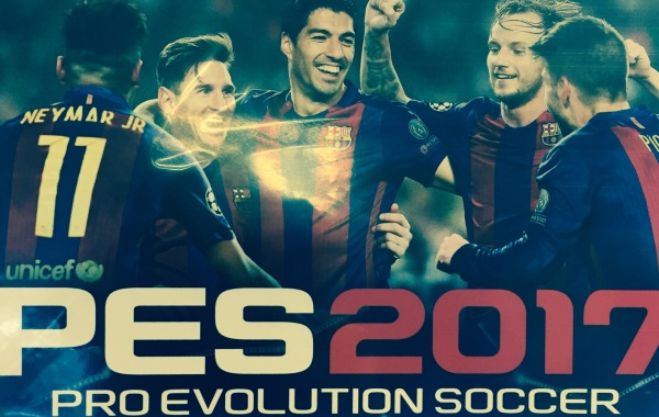 PS4 PES 2017 BOX ART