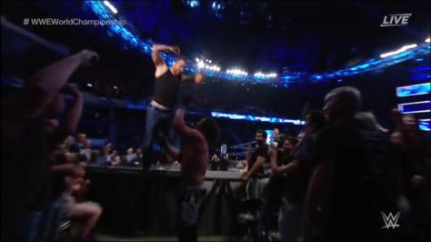 Ambrose VS AJ Styles at Backlash 2016