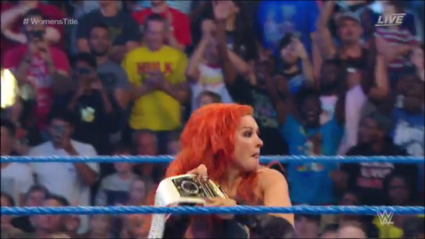 Becky Lynch After The Match