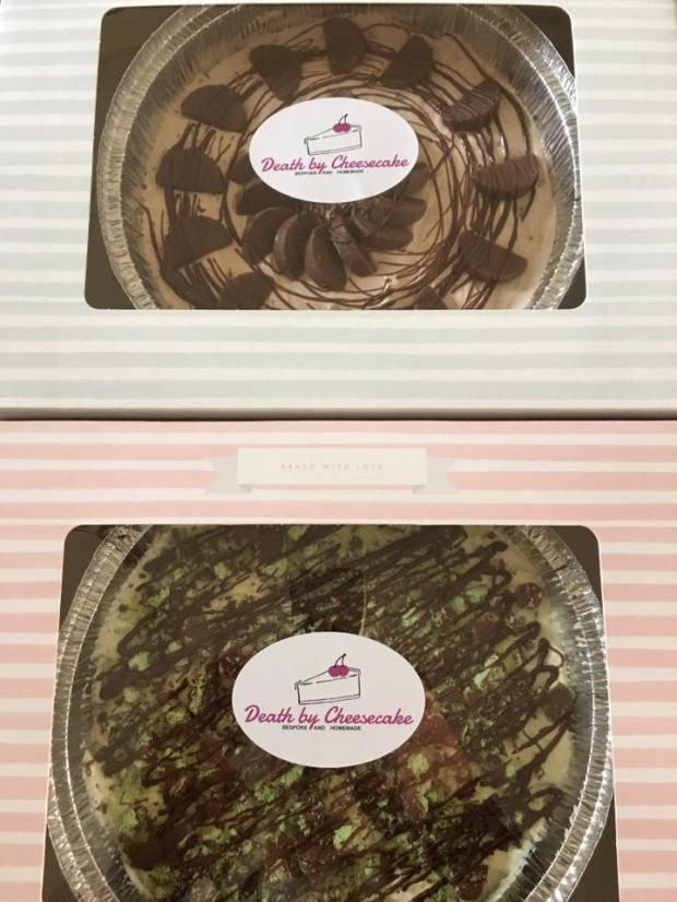 Chocolate Orange and Mint Aero Death By Cheesecake