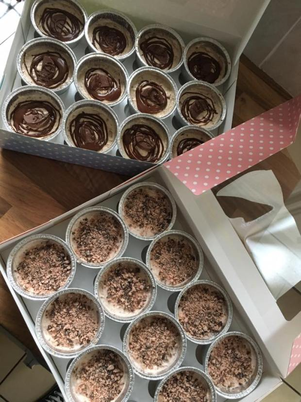 Individual DBC Cheesecake boxes