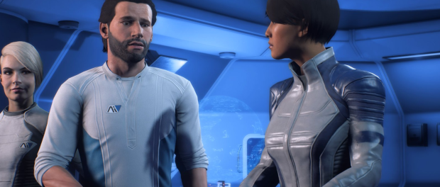 Poor Beard Mass Effect