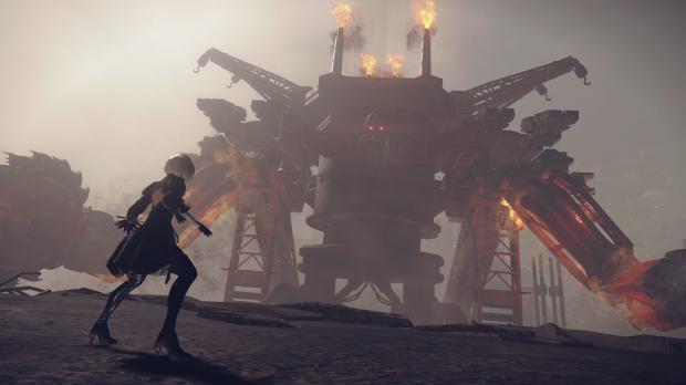 Nier Automata first boss