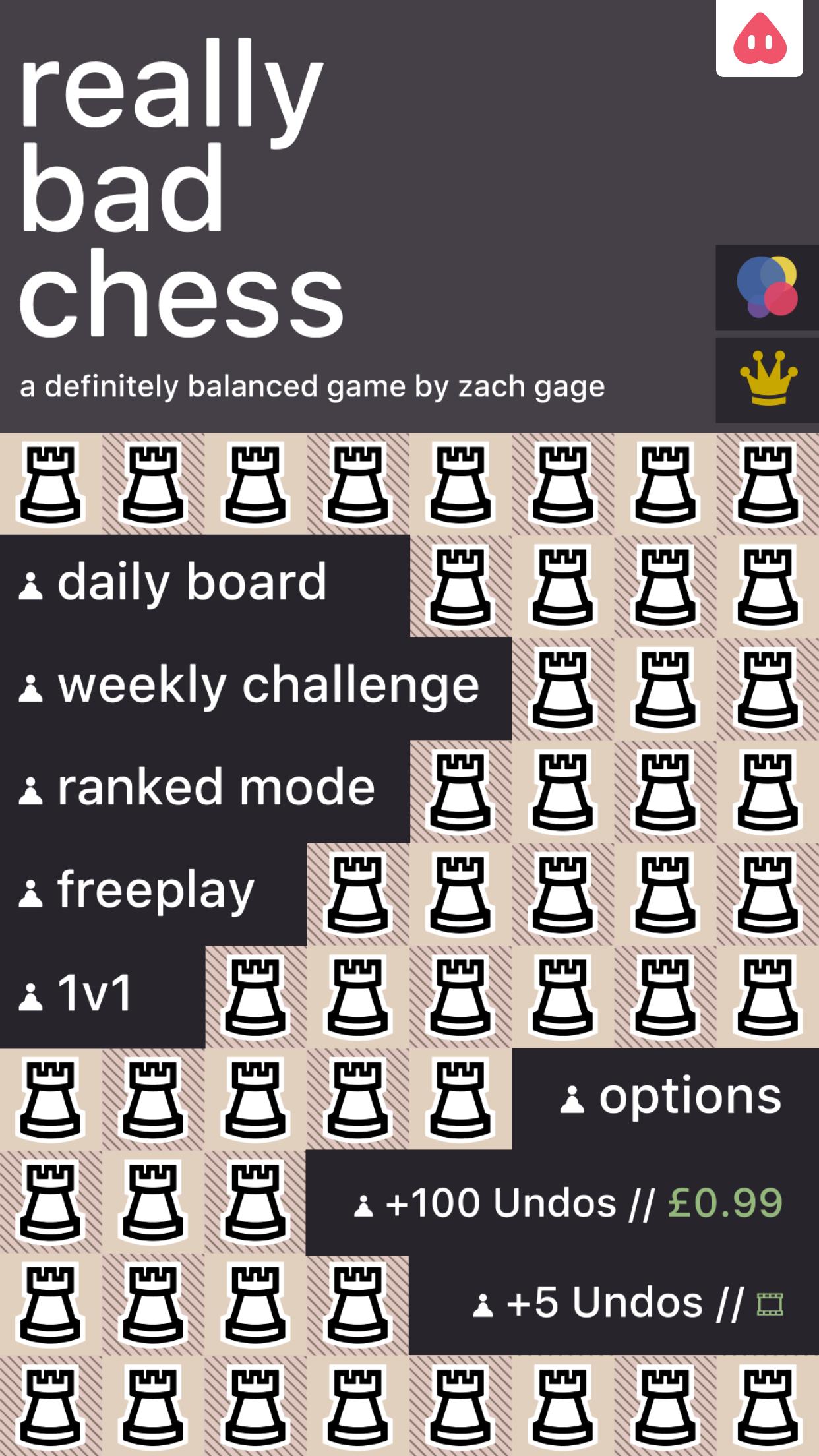 Really Bad Chess On IOS