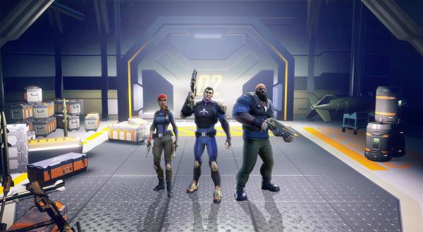 The Starting Trio Of Agents Of Mayhem