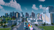 Traffic in Cities Skylines