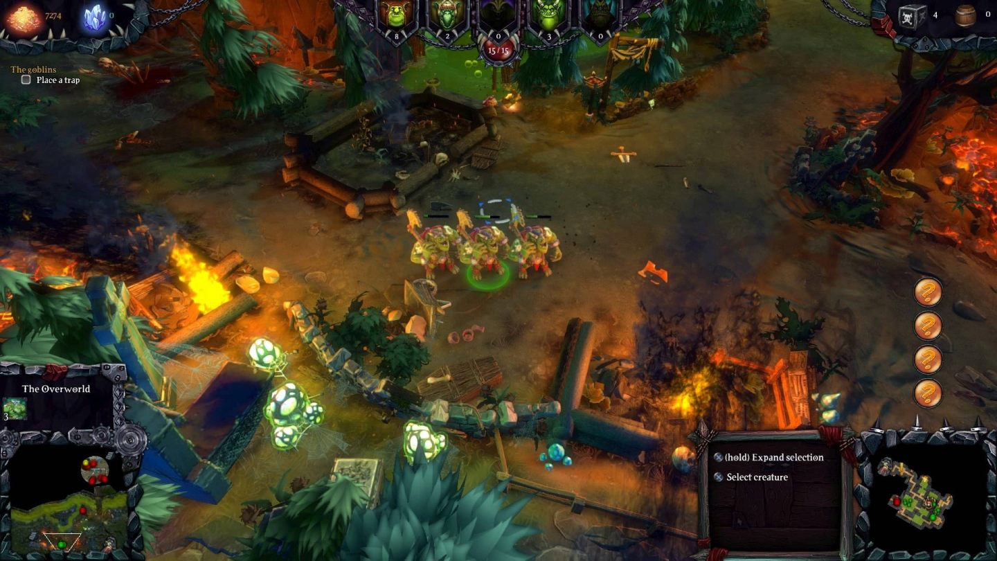 Dungeons 2 Surface Gameplay