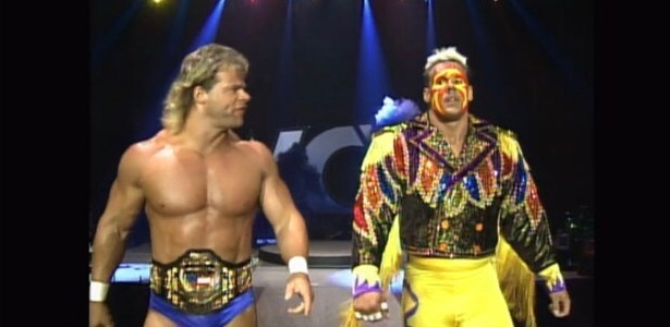 Sting and Lex Luger