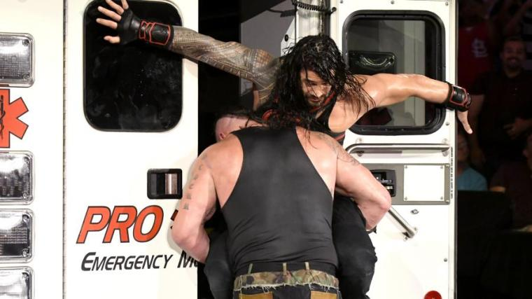 Roman Reigns and The Ambulance Match