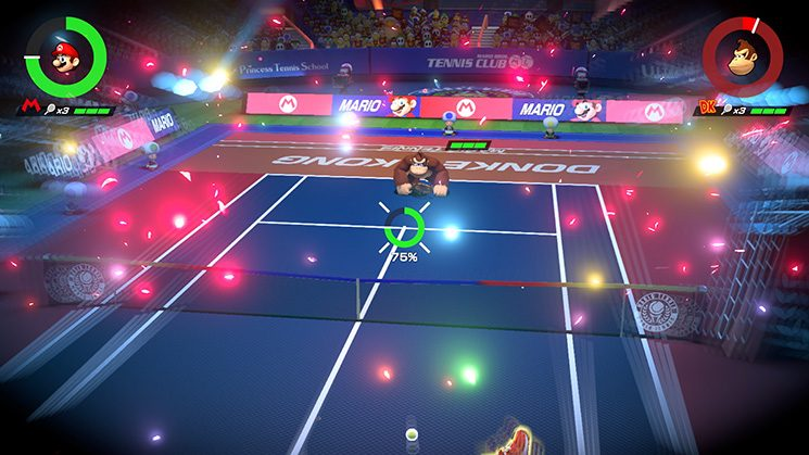 Mario Tennis Aces Special Move
