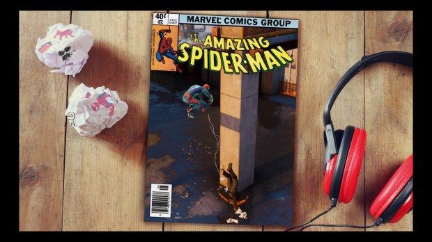 Photo Mode Spiderman PS4