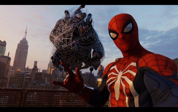 Spiderman Selfie