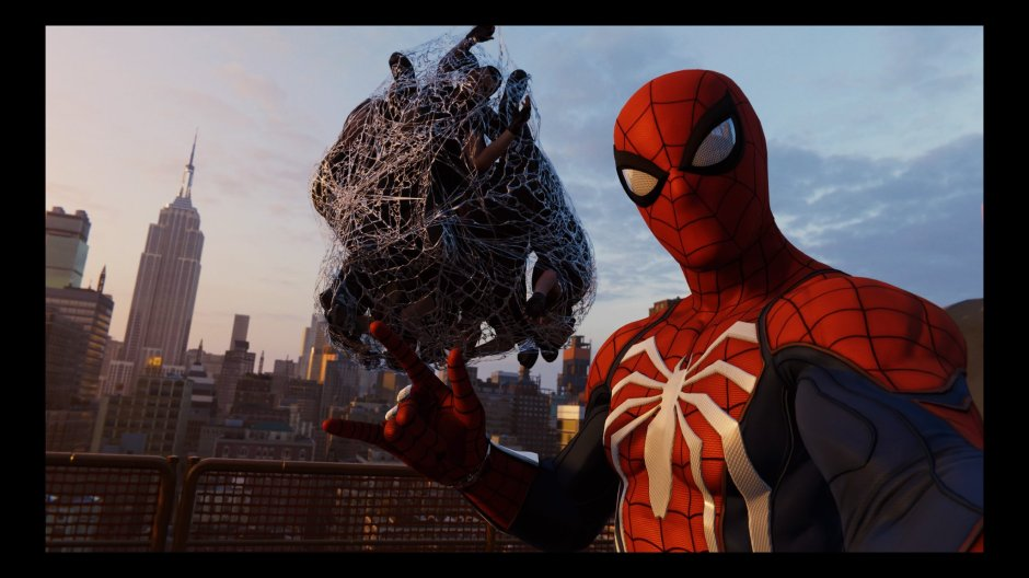 Spiderman Selfie
