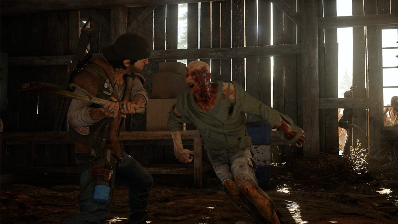 mELEE IN dAYS gONE