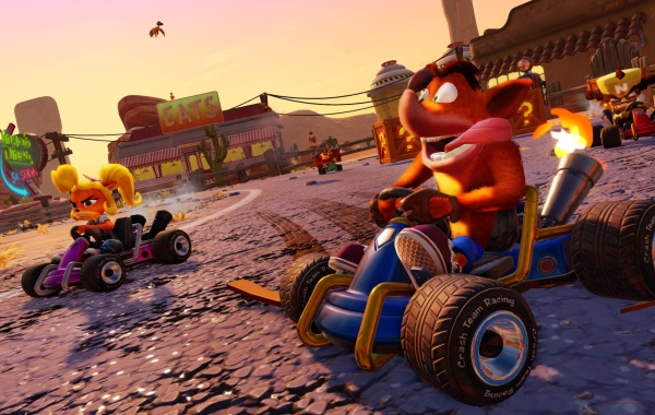 CTR PS4 REVIEW