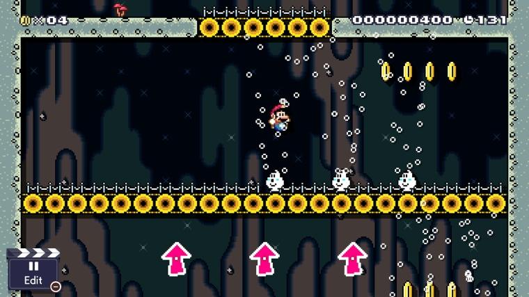 Mario Maker 2 Arrows