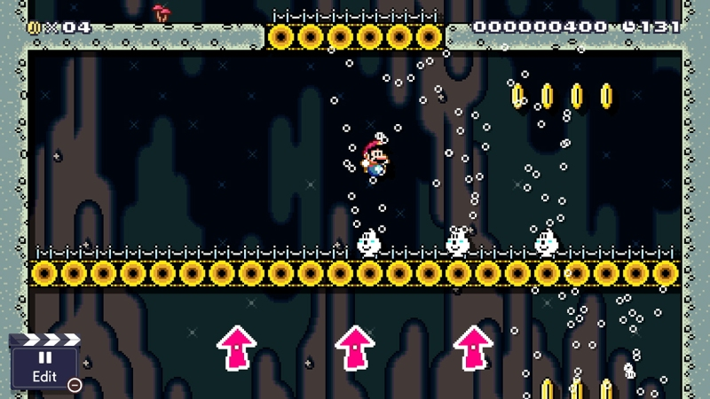 Mario Maker 2 Arrows