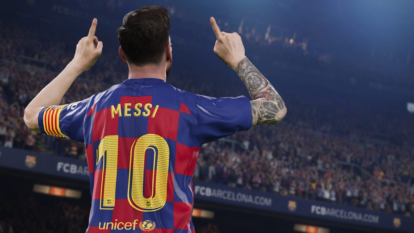 Messi In pes 2020