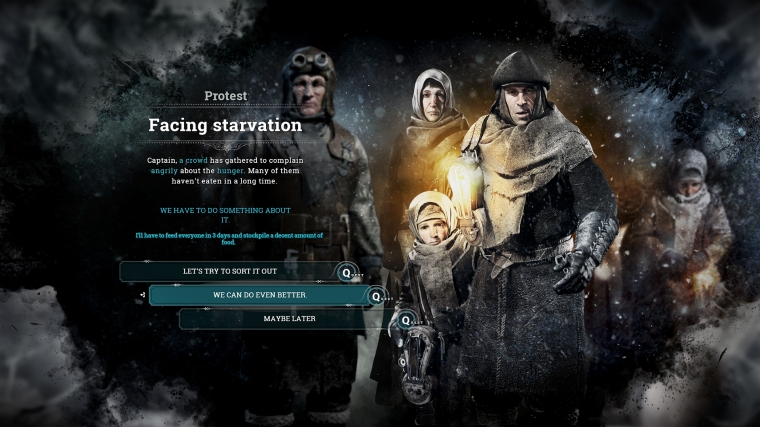 DECISIONS IN FROSTPUNK
