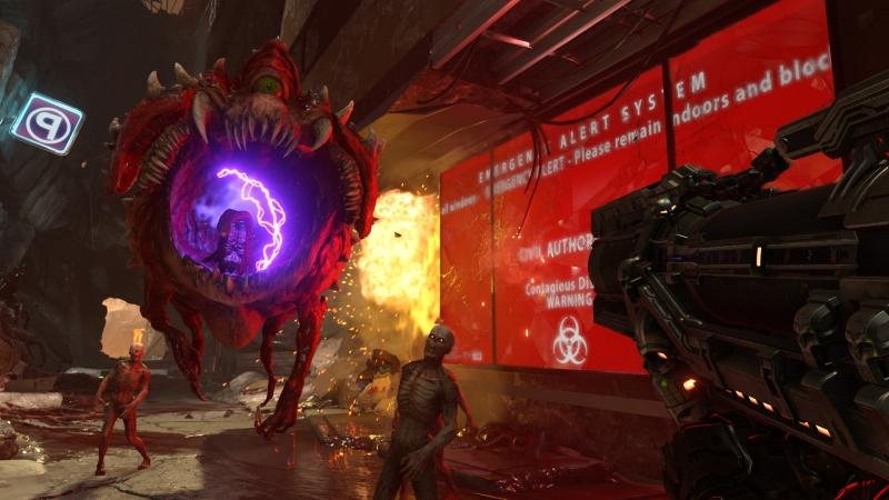 The flying annoyance Doom Eternal