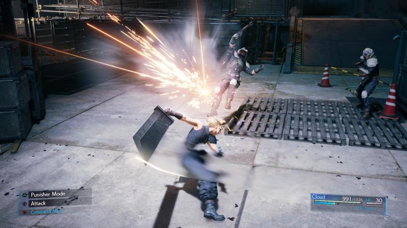ff7 Remake Combat